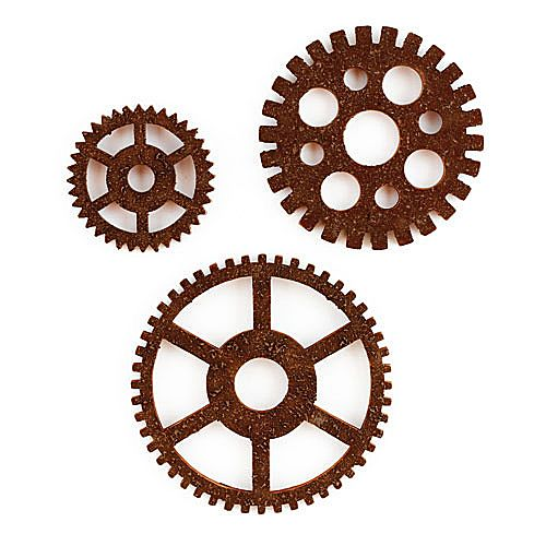 Gear Wall Decor interior decorating home: wall decor gears