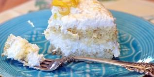 Ally's Kitchen's Delicious Lemon Coconut Cake