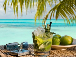 Mojito in the tropics