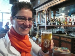 Ginger Johnson of Women Enjoying Beer