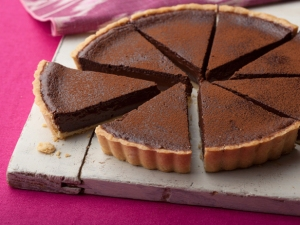 Chocolate Tart by Tyler Florence