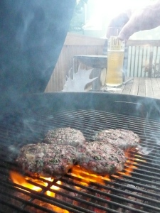 Hot Grill, Cool Beer