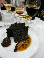 Chocolate Cake + Beer = Worth Celebrating!