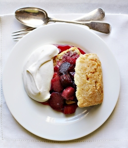 Delicious Rhubarb Shortcakes