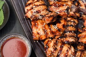 Korean Grilled Chicken Photo:  Chow.com