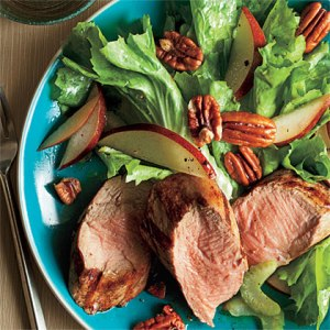 Grilled Pork Salad Photograph:  Nina Choi for Cooking Light Magazine