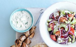 A delicious Greek Salad by BBC Good Food
