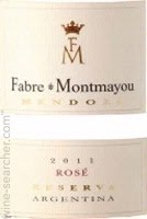 2011 Fabre Montmayou Rose'