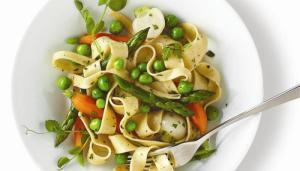 Spring Vegetable Ragout with Fresh Pasta