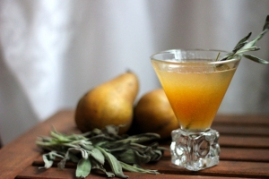 Pear and Sage Sazerac