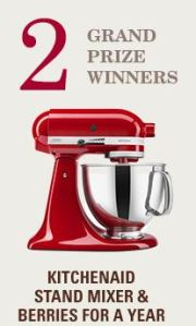 Driscolls Made with Love Sweepstakes
