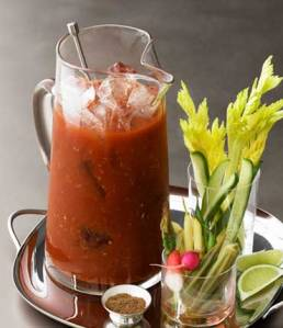 The ultimate Super Bowl Fav ~ The Bloody Mary