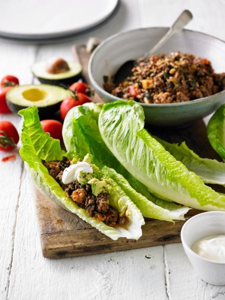 Eat Yourself Beautiful - Lettuce Leaf Burritos