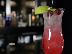 Shaun the Bartender's Berry Pear Cocktail
