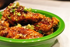 Perfect Appetizer ~ Sticky Chicken