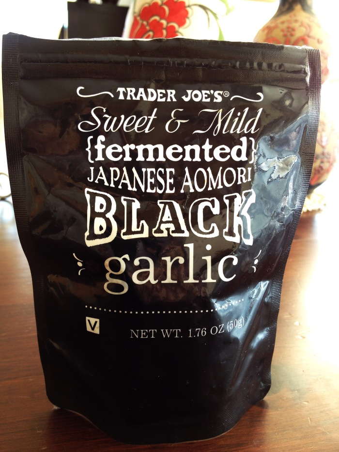 Black Garlic TJ Bago Goodness