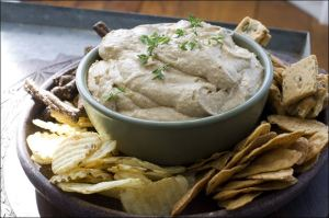 Carmelized Onion and Guinness Dip