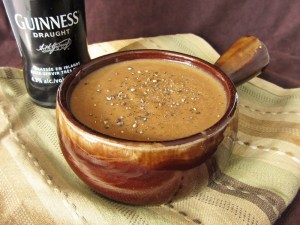 Guinness and Dubliner Cheese Soup