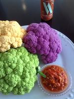 Warm Cauliflower and Bacon Salad