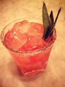 Cranberry Sage Margarita