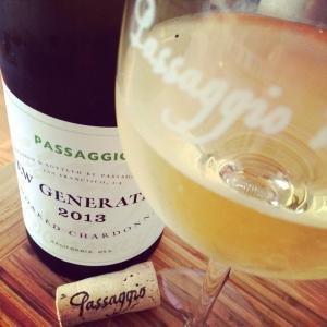 Passaggio's Unoaked Chardonnay