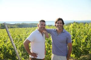 Todd, Carter and the Vineyard