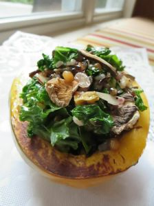 Stuffed Acorn Squash from South Fork & Spoon + Ango