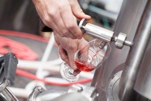 Cider Being Filled