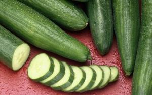 cucumbers stock