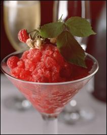 Pink Champagne & Raspberry Granite'