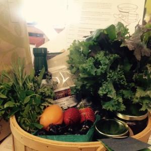 Basket of 21 Acres Goodies