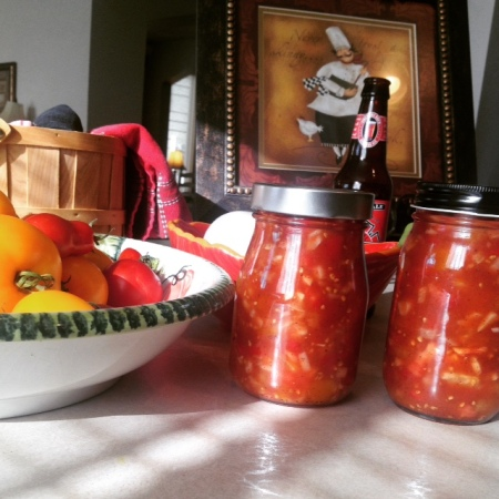 Rough and Simple Salsa