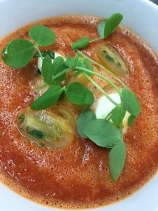 Summertime Tomato Gazpacho