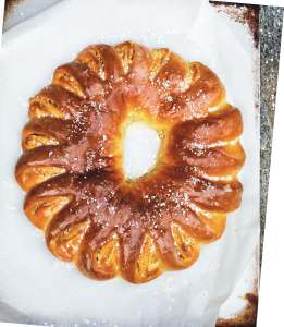 Swedish Almond Wreath
