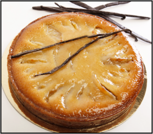 Chef Payard's Apple Honey Cake