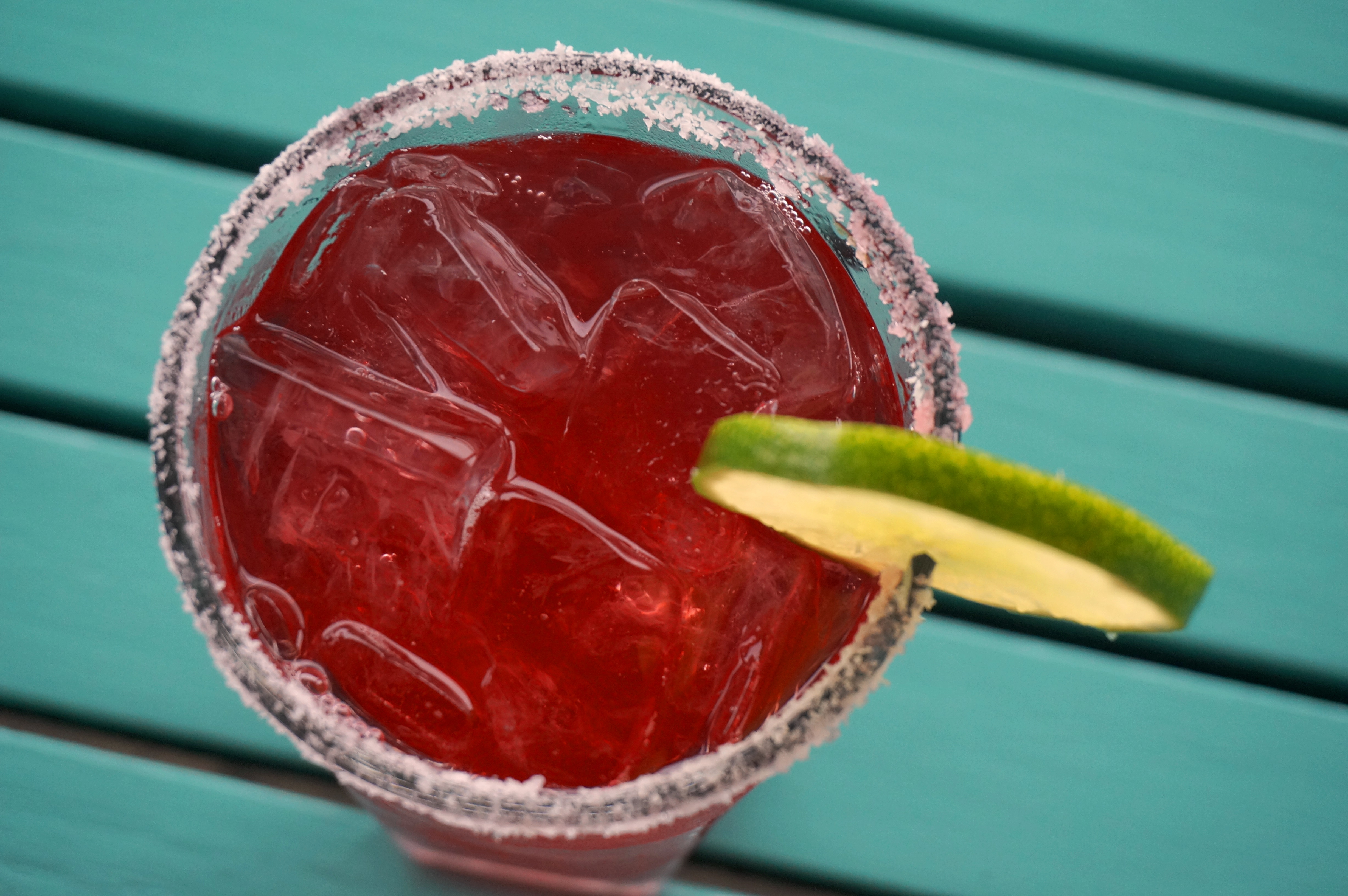 Painted House Margarita at Henry's Bar at the Harbor View Hotel