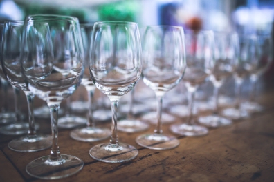 wine-glasses-empty-white-glass II