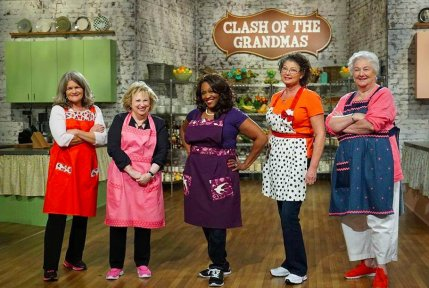 Food Network Clash of the Grandmas