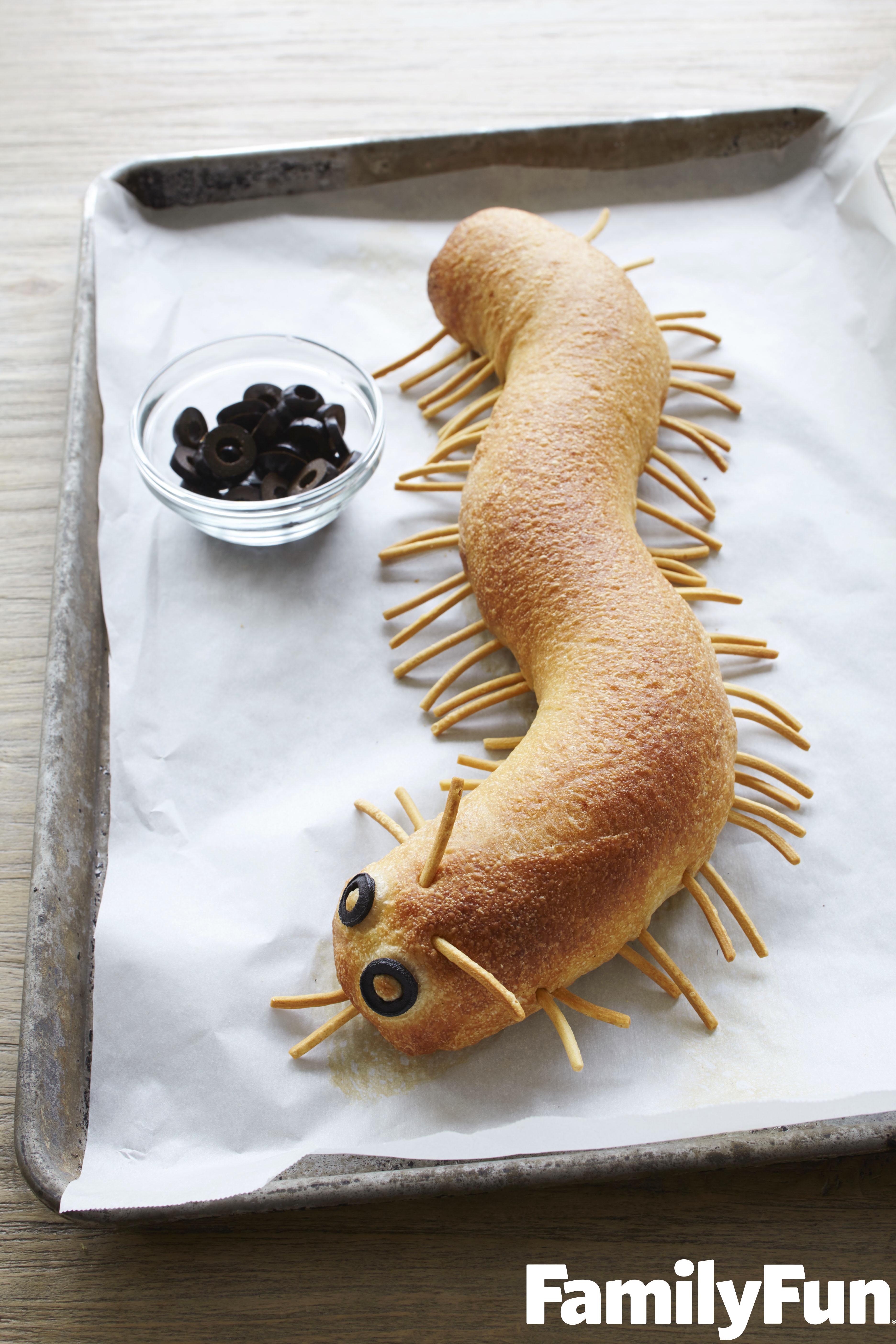 centipede-bread