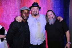 """Desmond Howard, Tony Gonzalez, & Kelly """"RISK"""" Graval"""