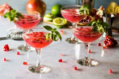 pomegranate-basil-martini