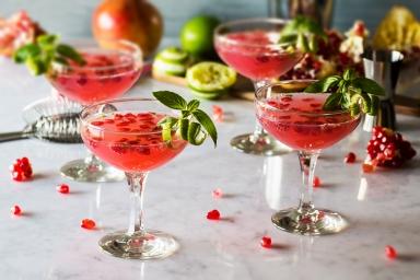 pomegranate-basil-martini