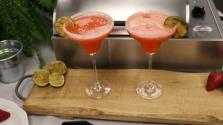 Grilled Strawberry Margarita Finish