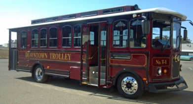 Santa Maria Wine Trolley