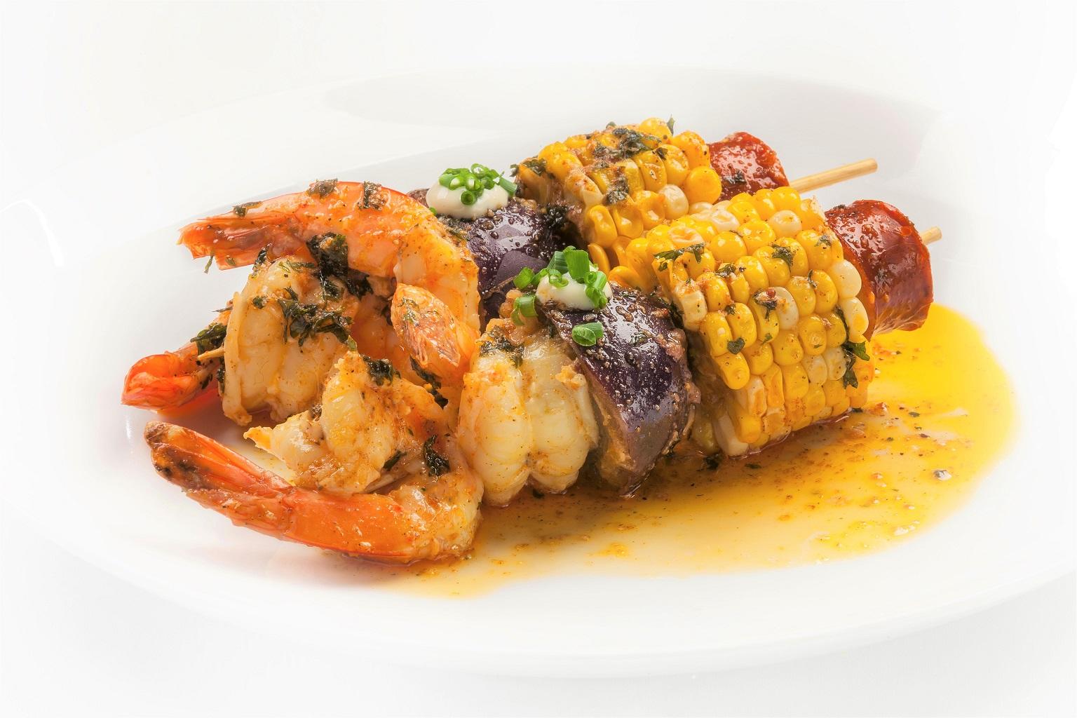 Grilled Cajun Shrimp Boil