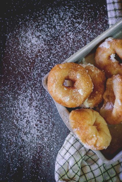 Cinnamon Cider Doughnuts