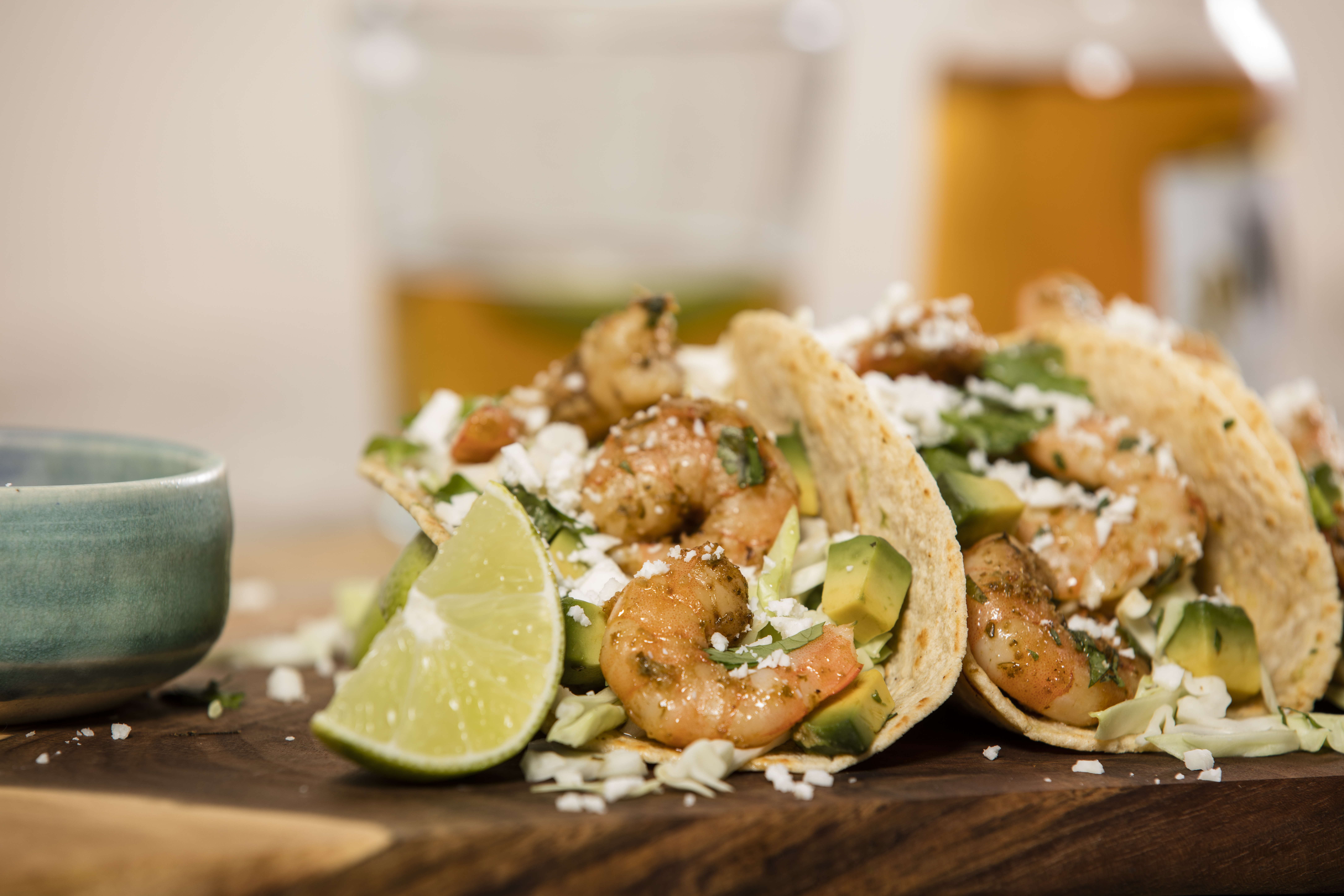 Surf's Up Shrimp Taco